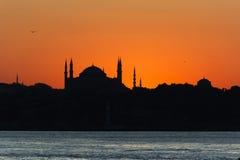 Mezquita de Hagia Sophia Imagen de archivo libre de regalías