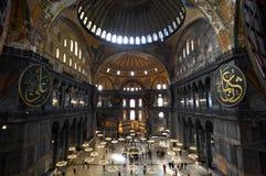 Mezquita de Hagia Sophia en Estambul Fotos de archivo libres de regalías
