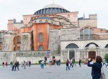 Mezquita de Hagia Sophia en Estambul imágenes de archivo libres de regalías