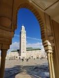 Mezquita de Hassan II foto de archivo