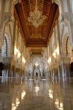 Mezquita de Hassan II Fotos de archivo libres de regalías