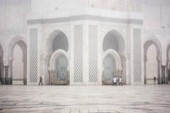 Mezquita de Hassan II Imagen de archivo libre de regalías