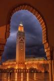 Mezquita 2 de Hassan II fotos de archivo