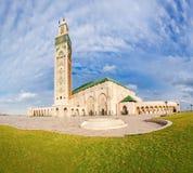 Mezquita de Hassan II Imagenes de archivo