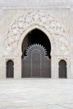 Mezquita de Hassan II en Casablanca Imágenes de archivo libres de regalías