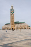 Mezquita de Hassan II en Casablanca Foto de archivo libre de regalías