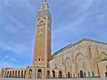 Mezquita de Hassan II foto de archivo libre de regalías