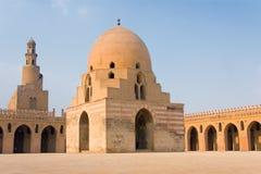 Mezquita de Ibn Tulum adentro Fotografía de archivo libre de regalías