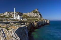 Mezquita de Ibrahim-al-Ibrahim, Gibraltar Imagen de archivo libre de regalías