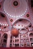 Mezquita de interior Imagenes de archivo
