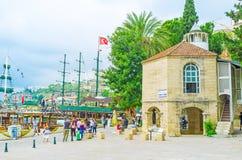 Mezquita de Iskele en Antalya Imagen de archivo