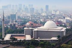 Mezquita de Istiqlal Foto de archivo libre de regalías