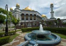 Mezquita de Jame'Asr Hassanil Bolkiah Imágenes de archivo libres de regalías