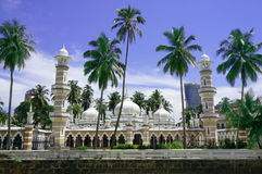Mezquita de Jamek (Masjid Jamek) en Kuala Lumpur Foto de archivo
