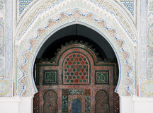 Mezquita de Kairaouine Quaraouiyne en Fes, Marruecos Fotografía de archivo libre de regalías