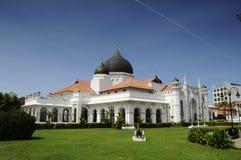 Mezquita de Kapitan Keling en Penang Foto de archivo libre de regalías