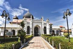 Mezquita de Kapitan Keling en Penang Malasia Imágenes de archivo libres de regalías