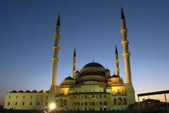 Mezquita de Kocatepe en Ankara - Turquía foto de archivo