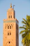 Mezquita de Koutoubia Imágenes de archivo libres de regalías