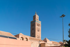 Mezquita de Koutoubia Fotografía de archivo