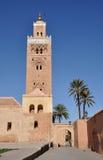 Mezquita de Koutoubia en Marrakesh Foto de archivo