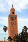 Mezquita de Koutoubia en Marrakesh, Imágenes de archivo libres de regalías