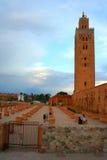 Mezquita de Koutoubia, Marrakesh, Marruecos Fotografía de archivo libre de regalías