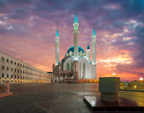 Mezquita de Kul Sharif Ciudad de Kazán, Rusia Foto de archivo