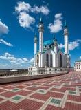 Mezquita de Kul-Sharif en Kazán, Tartaristán, Rusia Foto de archivo