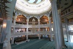 Mezquita de la catedral de Moscú (interior), Rusia -- la mezquita principal en Moscú imágenes de archivo libres de regalías