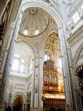 Mezquita de la catedral, Mezquita de Córdoba Andalucía, España Fotos de archivo