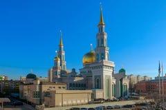 Mezquita de la catedral de Moscú Arquitectura, Islam fotografía de archivo