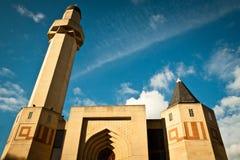 Mezquita de la central de Edimburgo Fotografía de archivo