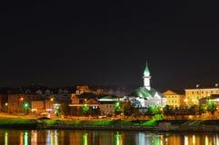 Mezquita de la noche imagenes de archivo