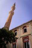 Mezquita de la pequeña ciudad Foto de archivo libre de regalías