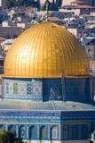 Mezquita de la roca fotografía de archivo