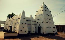Mezquita de Larabanga en Ghana septentrional, 2018 imagen de archivo libre de regalías