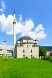 mezquita de los Husein-bajáes, Pljevlja Foto de archivo libre de regalías