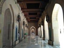 Mezquita de los qaboos de Sulthan Imágenes de archivo libres de regalías