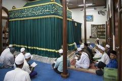 Mezquita de Luar Batang Fotografía de archivo libre de regalías