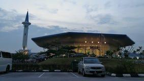 Mezquita de Malasia foto de archivo libre de regalías