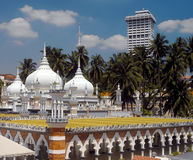 Mezquita de Masjid Jamek en Kuala Lumpur Fotografía de archivo