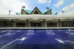 Mezquita de Masjid Negara en Kuala Lumpur, Malasia Fotografía de archivo