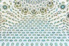 Mezquita de menor importancia de los modelos caligráficos en Tashkent, Uzbekistán Foto de archivo libre de regalías