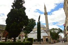 Mezquita de Mostar en Bosnia y Herzegovina Imagen de archivo