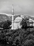 Mezquita de Mostar fotos de archivo