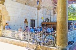 Mezquita de Muratpasa en Antalya el viernes Imágenes de archivo libres de regalías