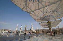Mezquita de Nabawi foto de archivo