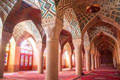 Mezquita de Nasir al-Mulk Fotos de archivo