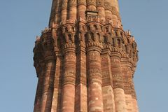 Mezquita de Nueva Deli Fotos de archivo libres de regalías